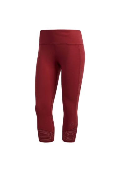 f7667e9658a adidas How We Do 3/4 Tights - Running trousers for Women - Red | 21RUN