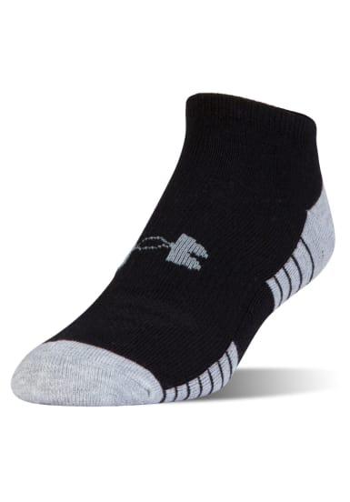 62019d892 Under Armour Heatgear Tech No Show 3Pk - Running socks - Black | 21RUN