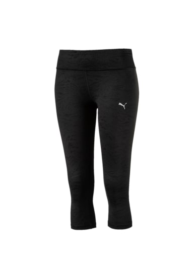0c8c6826596d08 Puma ALL EYES ON ME 3/4 Tight - Running trousers for Women - Black ...