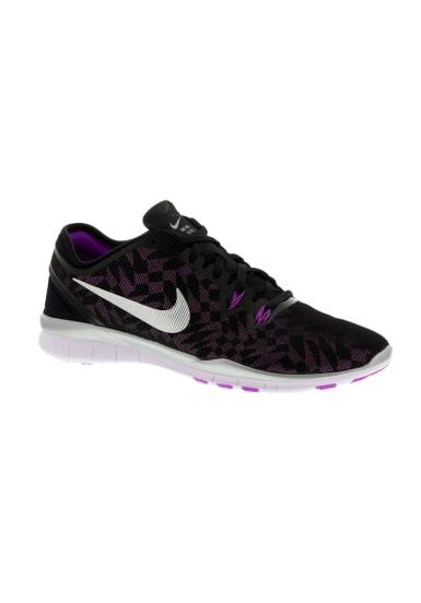 Nike Free 5.0 Tr Fit 5 Metallic Laufschuhe für Damen Schwarz