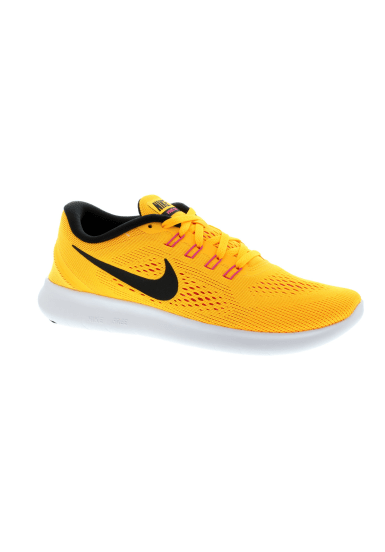 newest 31b2d 18ef4 Nike Free RN - Chaussures running pour Femme - Jaune