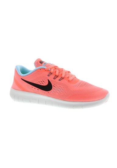 nike shoes for girls pink. nike free rn gs girls - running shoes for pink o