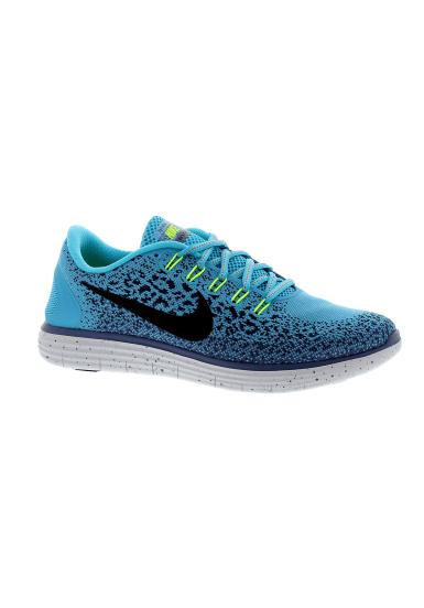 Nike Free RN Distance Shield Chaussures running pour Femme Bleu