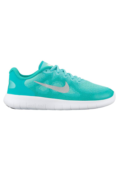 the best attitude ab45c 51fb9 Nike Free RN 2017 GS Girls - Chaussures running pour Filles - Vert