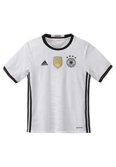 adidas DFB Home Jersey Youth - Ropa de futbol para Chicos - Blanco ...