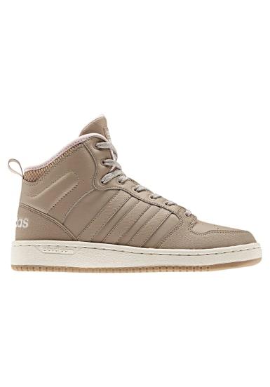 3d0e286366360 adidas neo Cloudfoam Hoops Winter Mid - Sneaker für Damen - Braun ...