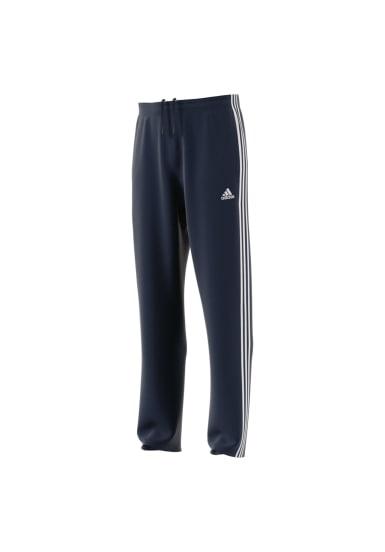 adidas. Essentials 3S Regular Fit Tricot Pant - Pantalons course pour Homme  - Noir 542954deb20e