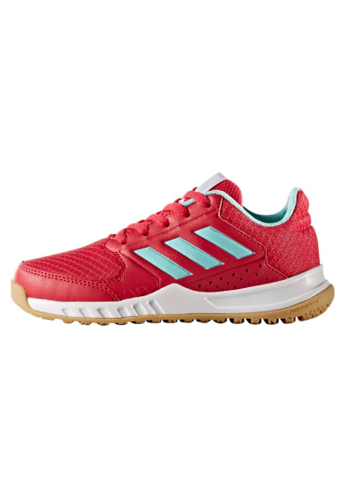 low priced 4cf9c 2ac81 adidas FortaGym Kids - Chaussures sports en salle - Rouge