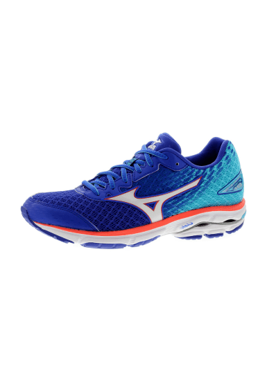 Mizuno Wave Rider 19 - Running shoes for Women - Blue  78f6e0919f