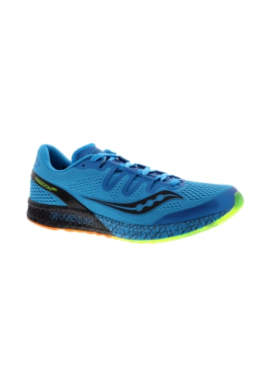 e45f34ed3923 Saucony Freedom ISO - Chaussures running pour Homme - Bleu