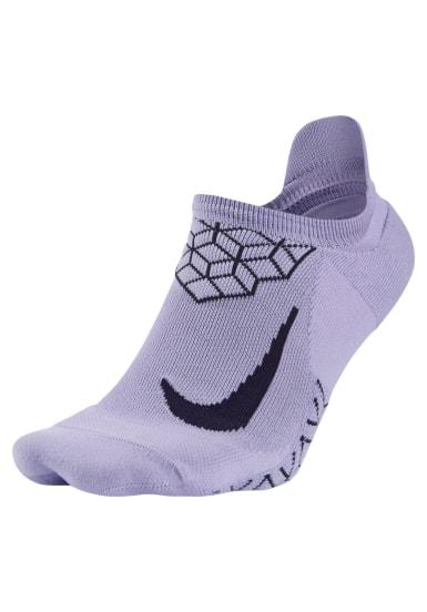 5c9cb8ab3 Nike Dri-Fit Elite Cushioned No-Show Running Sock - Running socks - White
