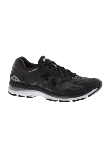 asics gel nimbus 19 chaussures running pour femme noir 21run. Black Bedroom Furniture Sets. Home Design Ideas