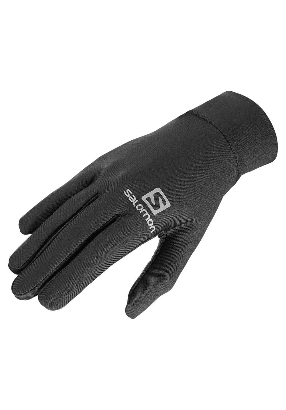Salomon Agile Warm Glove Laufhandschuhe - Schwarz, Gr. S