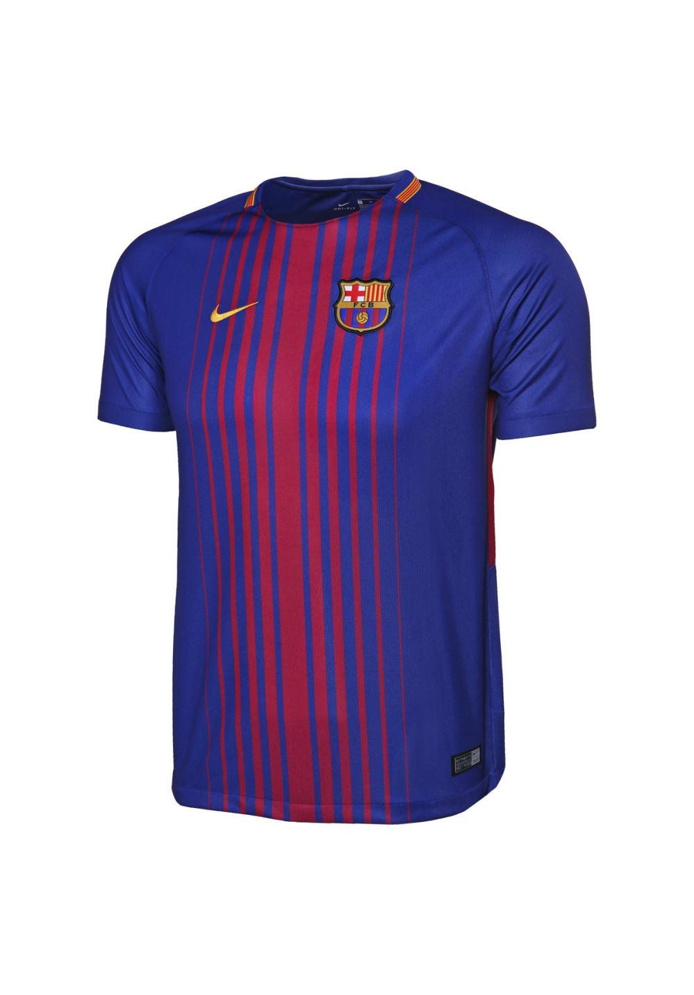 Nike Kids' Breathe Barcelona Stadium Jersey - T-Shirts für Kinder Unisex - Blau