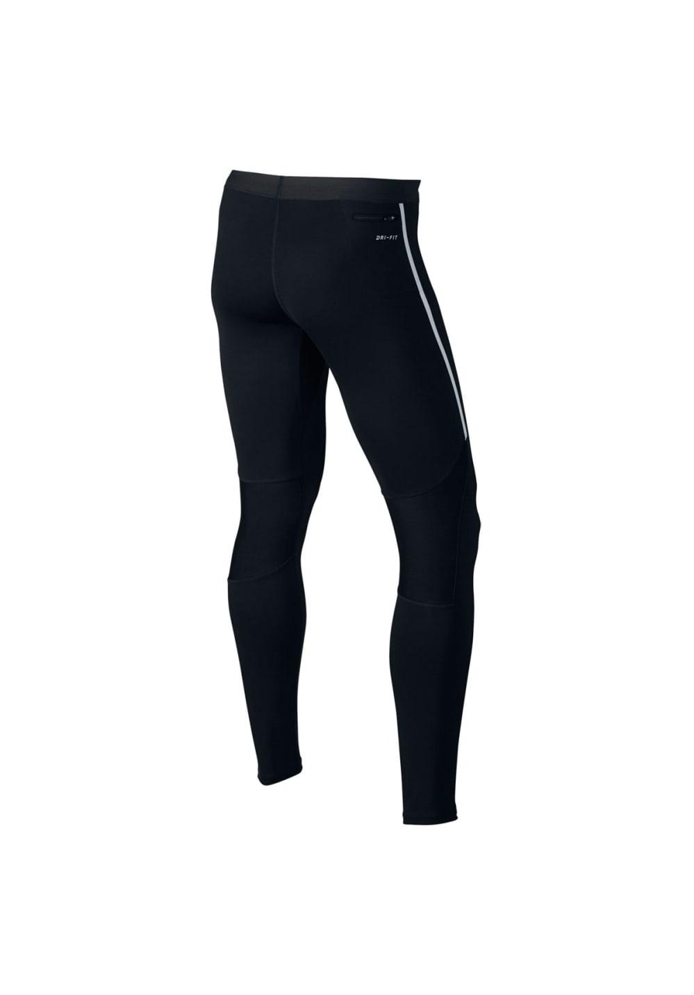 Nike Power Tech Running Tights - Laufhosen für Herren - Schwarz, Gr. XL