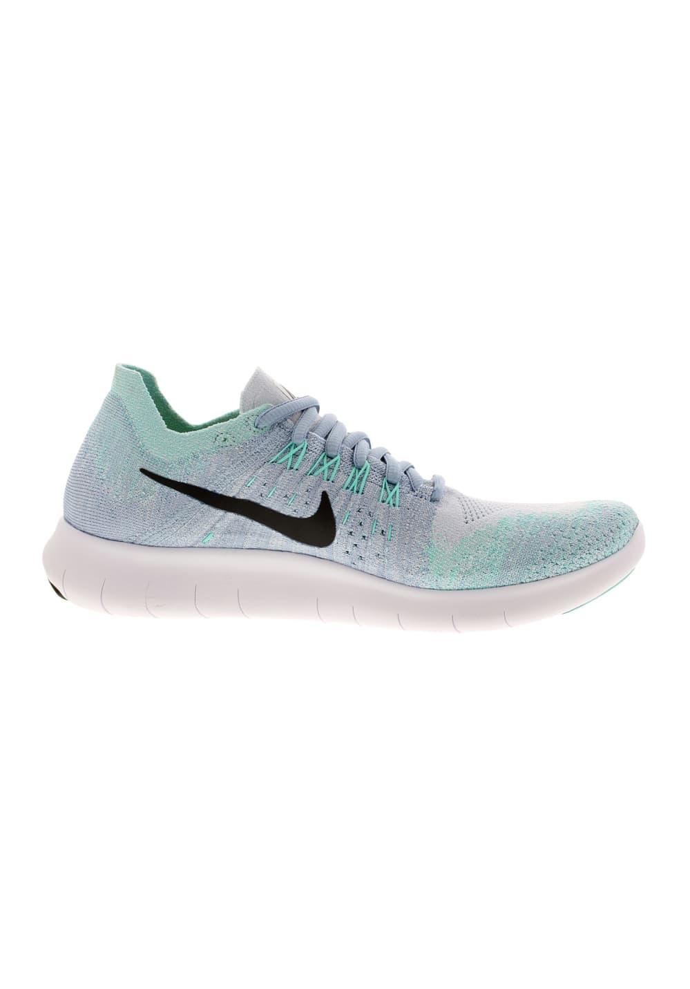 Nike Free Femme Bleu Rn 2017 Chaussures Flyknit Running Pour Om8nvN0w