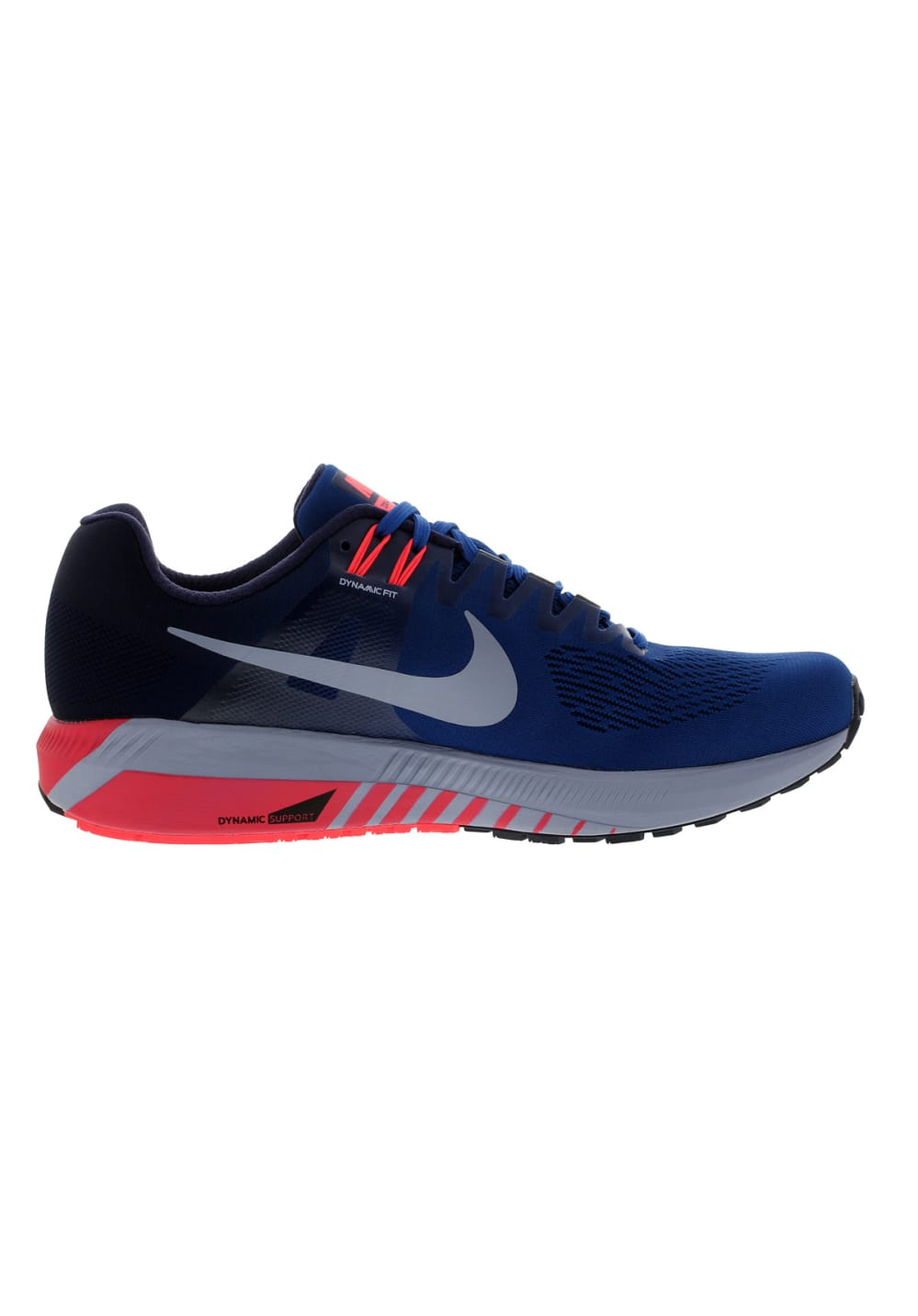 Zoom Homme Running Nike Chaussures Structure Bleu Air 21 Pour QdChtsxr