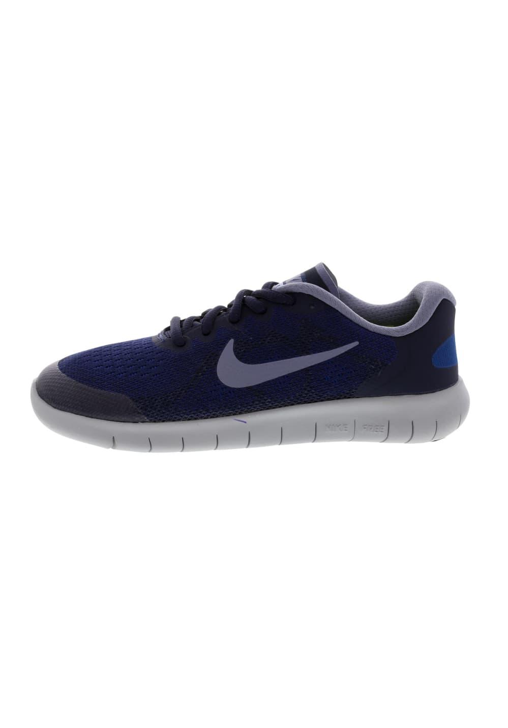 2017 Nike Rn Running Free Bleu Gs Chaussures Boys CQBhdxrts