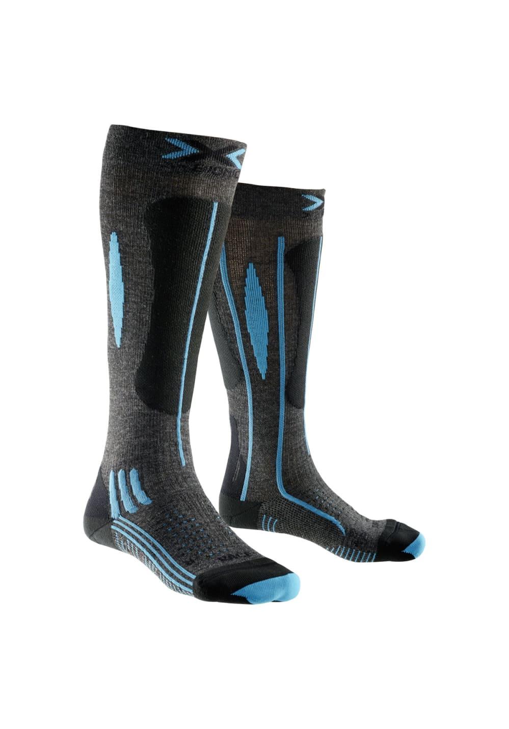 X-Bionic Ski Effektor Race Wintersport - Grau, Gr. 39-40