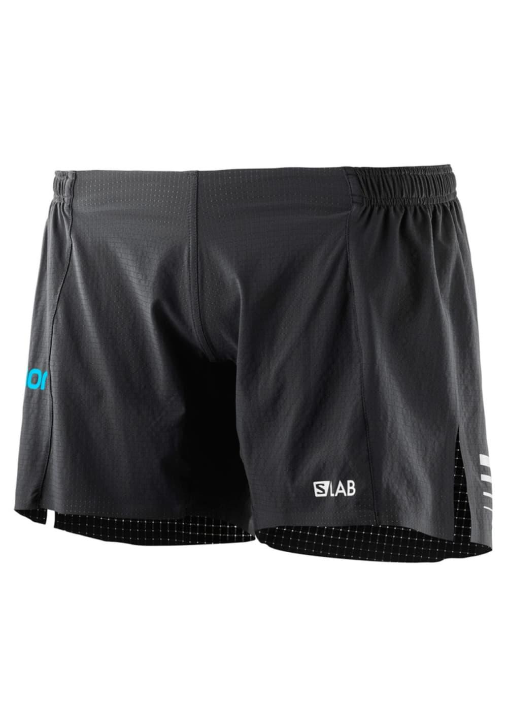 Sportmode für Frauen - Salomon S Lab Short 6 Laufhosen für Damen Grau  - Onlineshop 21Run