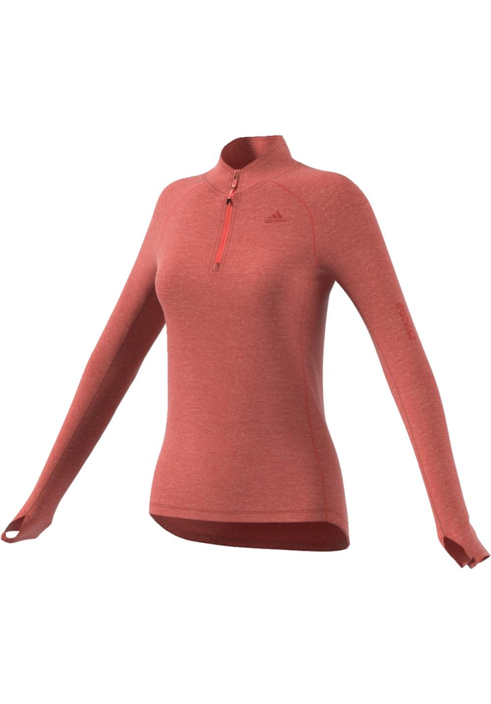 adidas Supernova 1/2 Zip - Sweatshirts & Hoodies für Damen - Orange