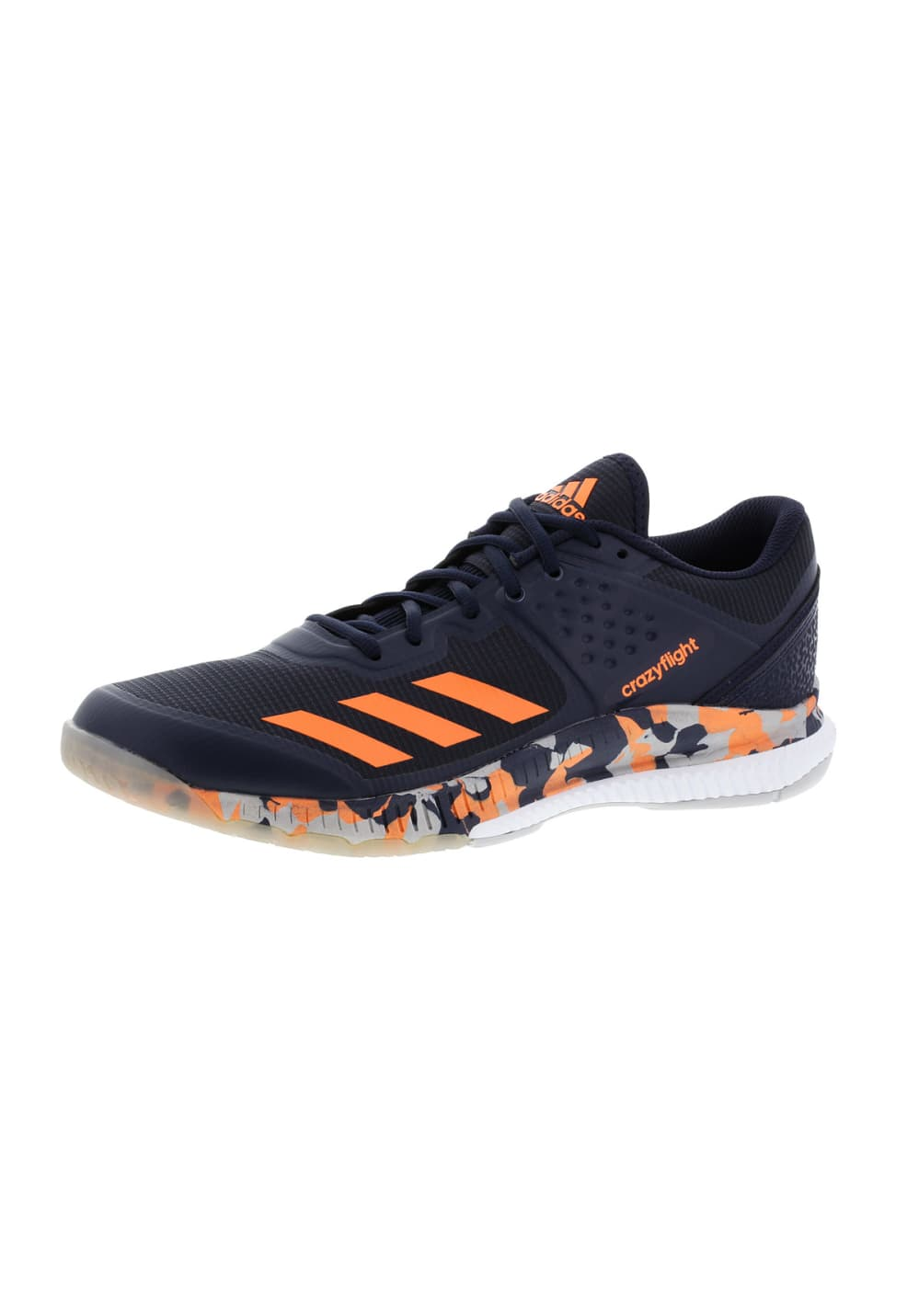 Multicolore Adidas Crazyflight Bounce De Homme Chaussures Volleyball Pour thdsQr