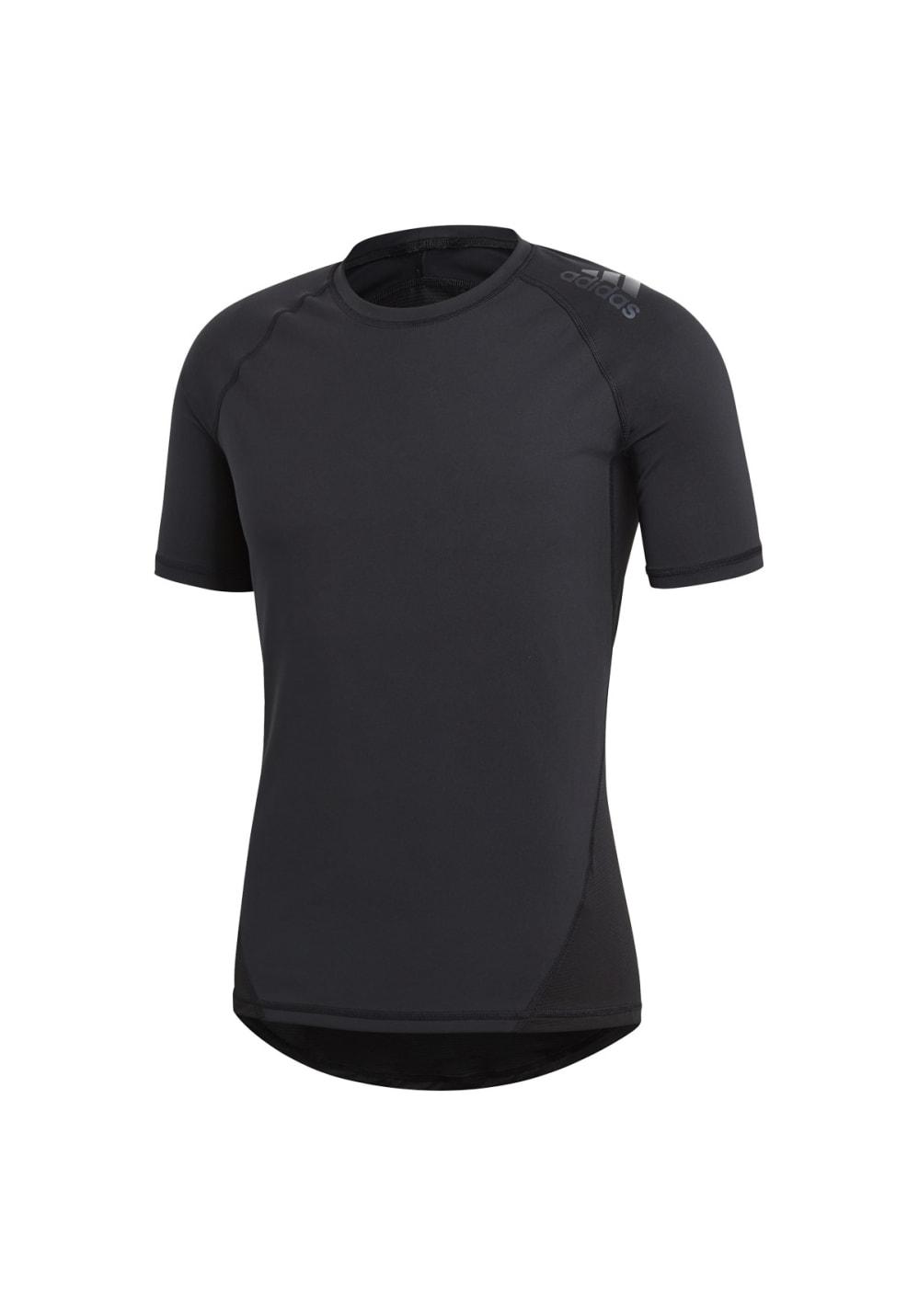 adidas Alphaskin Sprt Tee Short Sleeve - Fitnessshirts für Herren - Schwarz
