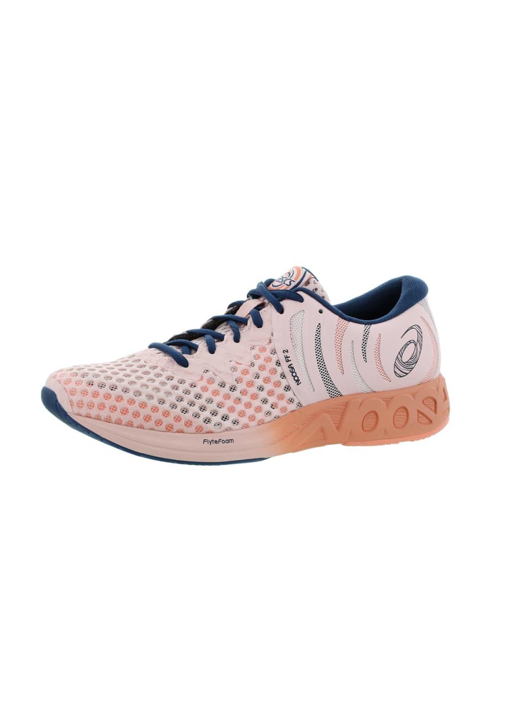 Pink Running Noosa 2 Shoes Ff Asics For Women AR354jL
