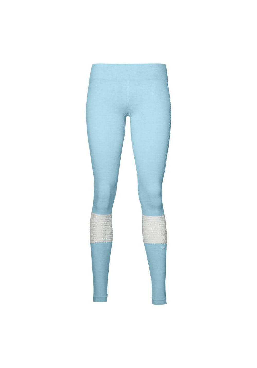 ASICS Seamless Tight - Laufhosen für Damen - Blau, Gr. L