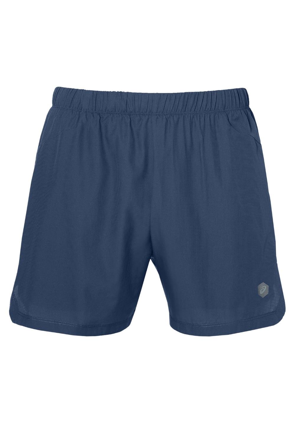 ASICS Cool 2-N-1 5In Short - Laufhosen für Herren - Blau, Gr. XL