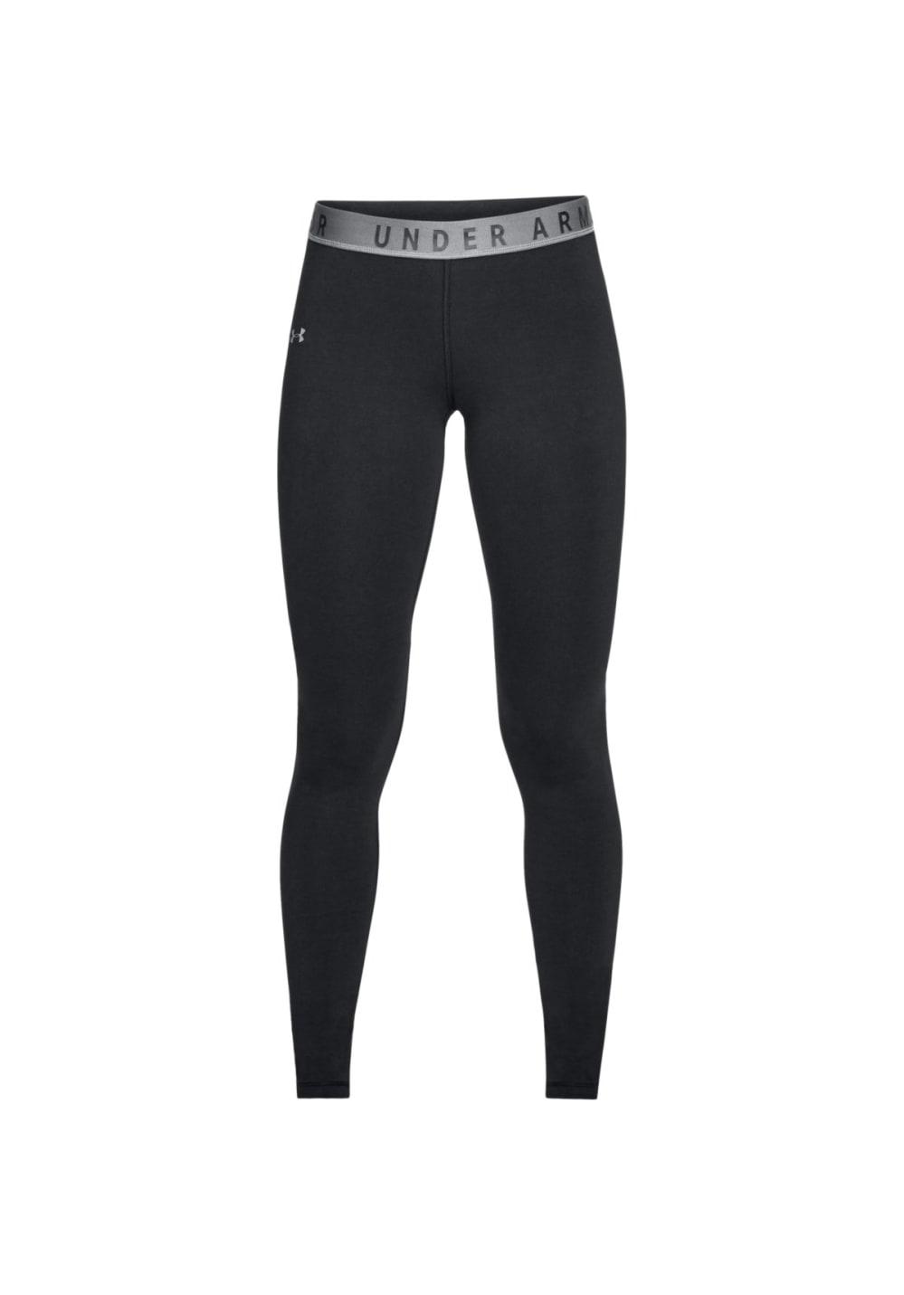 Sportmode für Frauen - Under Armour Favorites Legging Laufhosen für Damen Schwarz  - Onlineshop 21Run