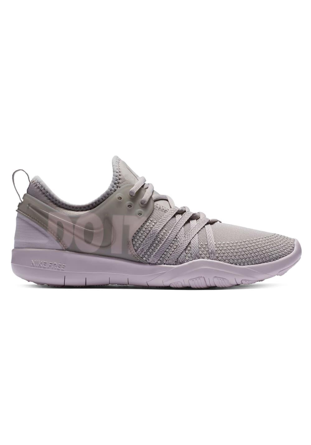 Nike Free Trainer 7 Premium - Fitnessschuhe für Damen - Grau