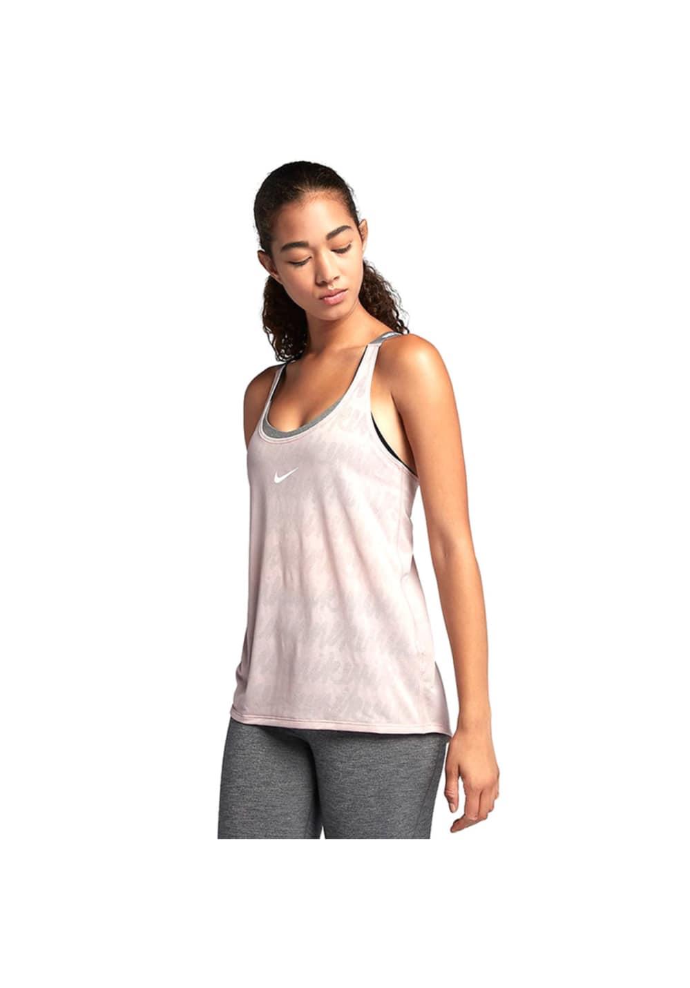 Nike Dry Training Tank Fitnessshirts für Damen Grau