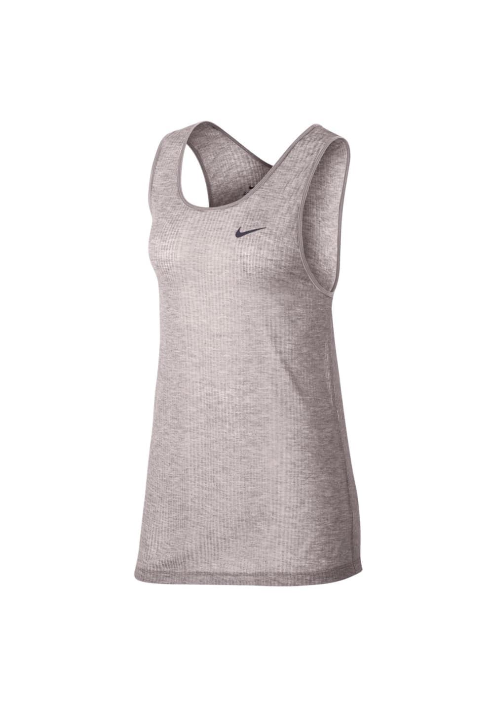 Nike Breathe Training Tank - Fitnessshirts für Damen - Pink, Gr. S