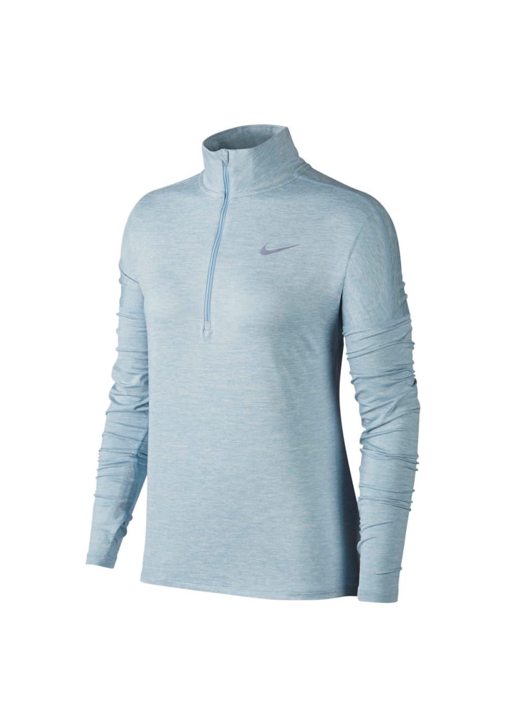 Nike Dry Element Running Top - Laufshirts für Damen - Blau, Gr. XL