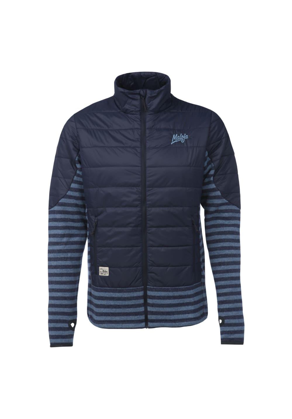 Maloja GuildsM. Hybrid Fleece Jacket - Freizeitbekleidung für Herren - Blau, Gr