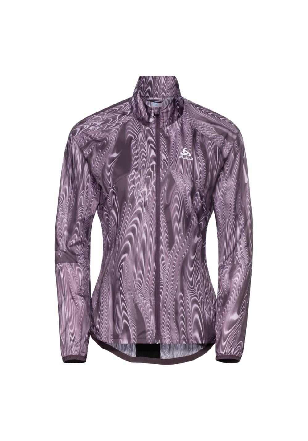 Odlo Jacket Omnius Light - Laufjacken für Damen - Lila