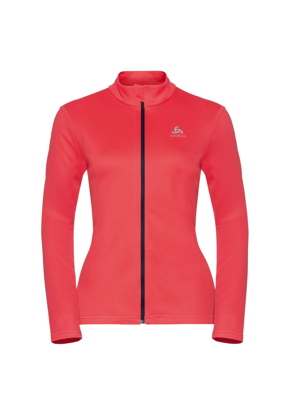 Odlo Midlayer Full Zip Koya Light - Laufjacken für Damen - Rot, Gr. M