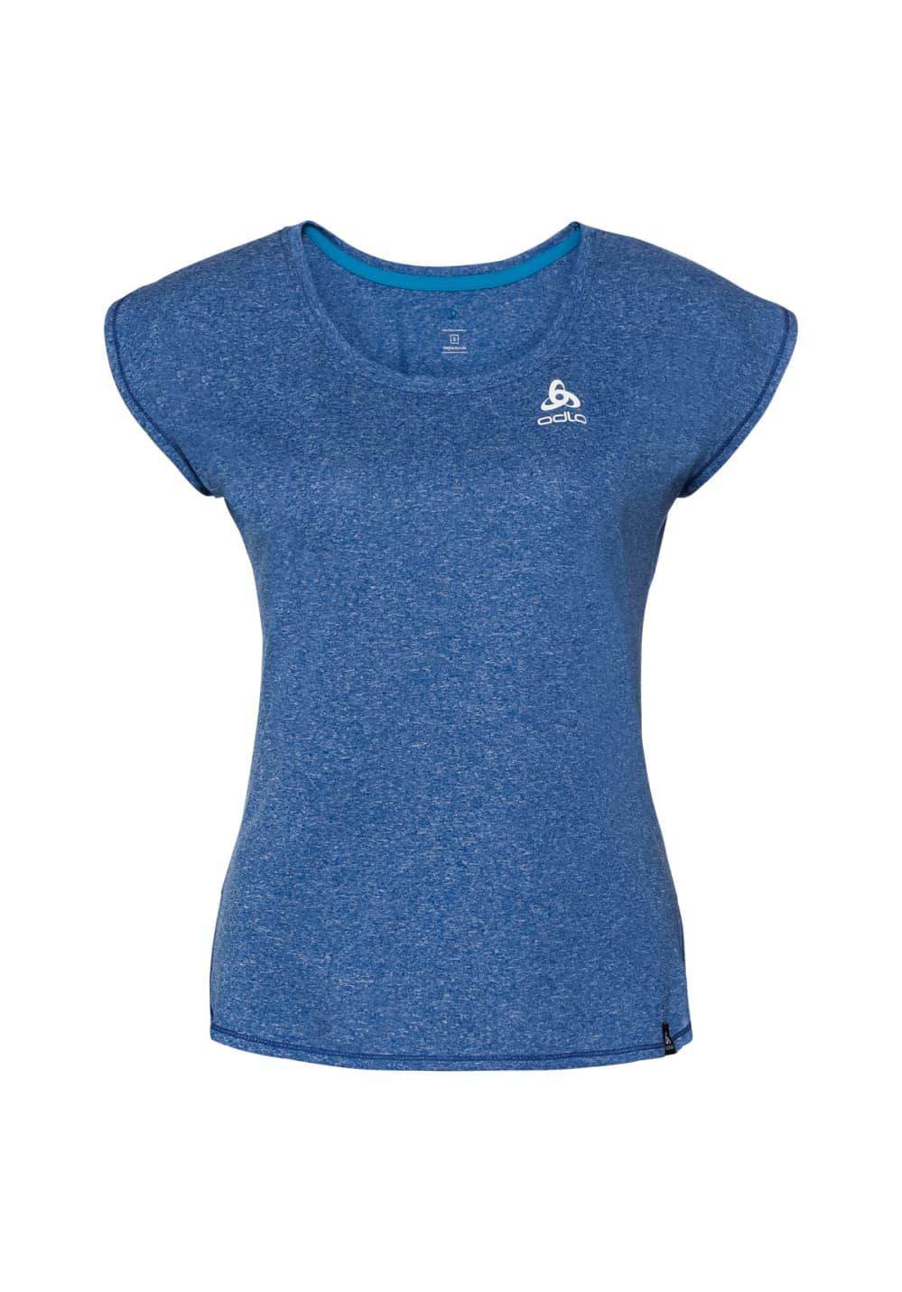 Odlo Bl Top Crew Neck S/s Helle Plain - T-Shirts für Damen - Blau, Gr. XL