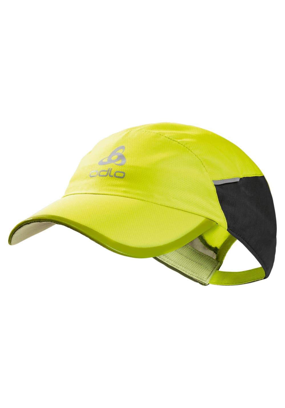 Odlo Cap Fast & Light Kopfbedeckung - Gelb, Gr. S/M