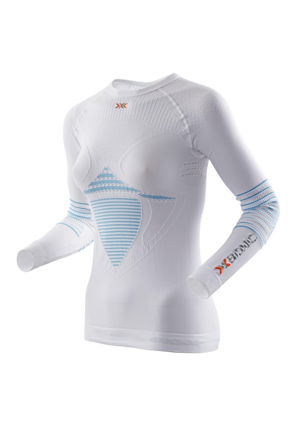 X-Bionic Energizer Mk2 Uw Longsleeve Shirt - Fitnessshirts für Damen - Weiß, G