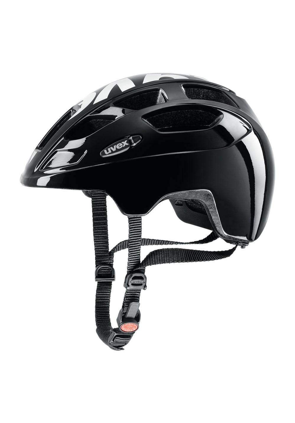 Uvex Finale Junior - Helme für Kinder Unisex - Schwarz, Gr. 51-55 cm