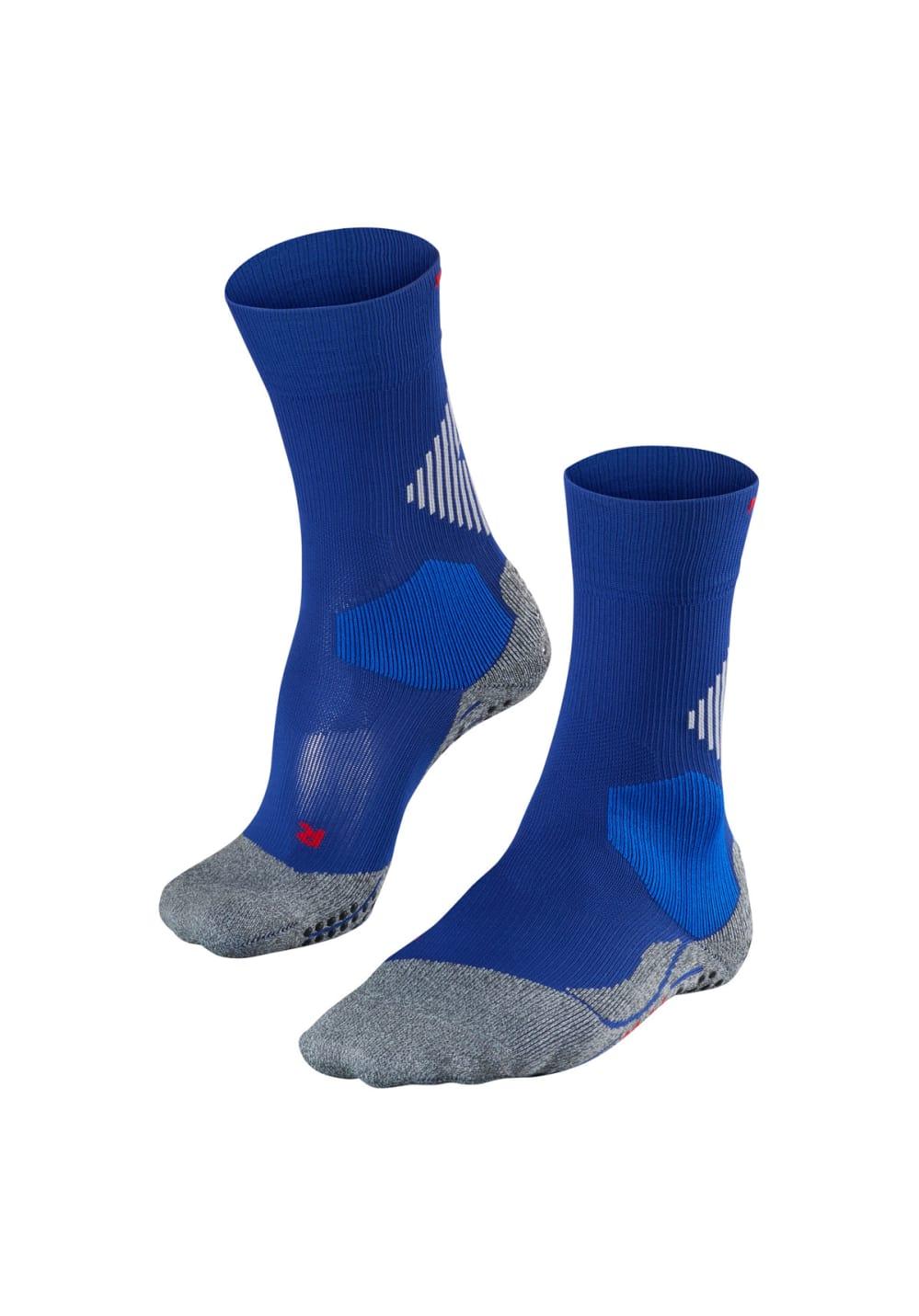 Falke 4 Grip Stabilizing Laufsocken - Blau, Gr. 12,5-13,5