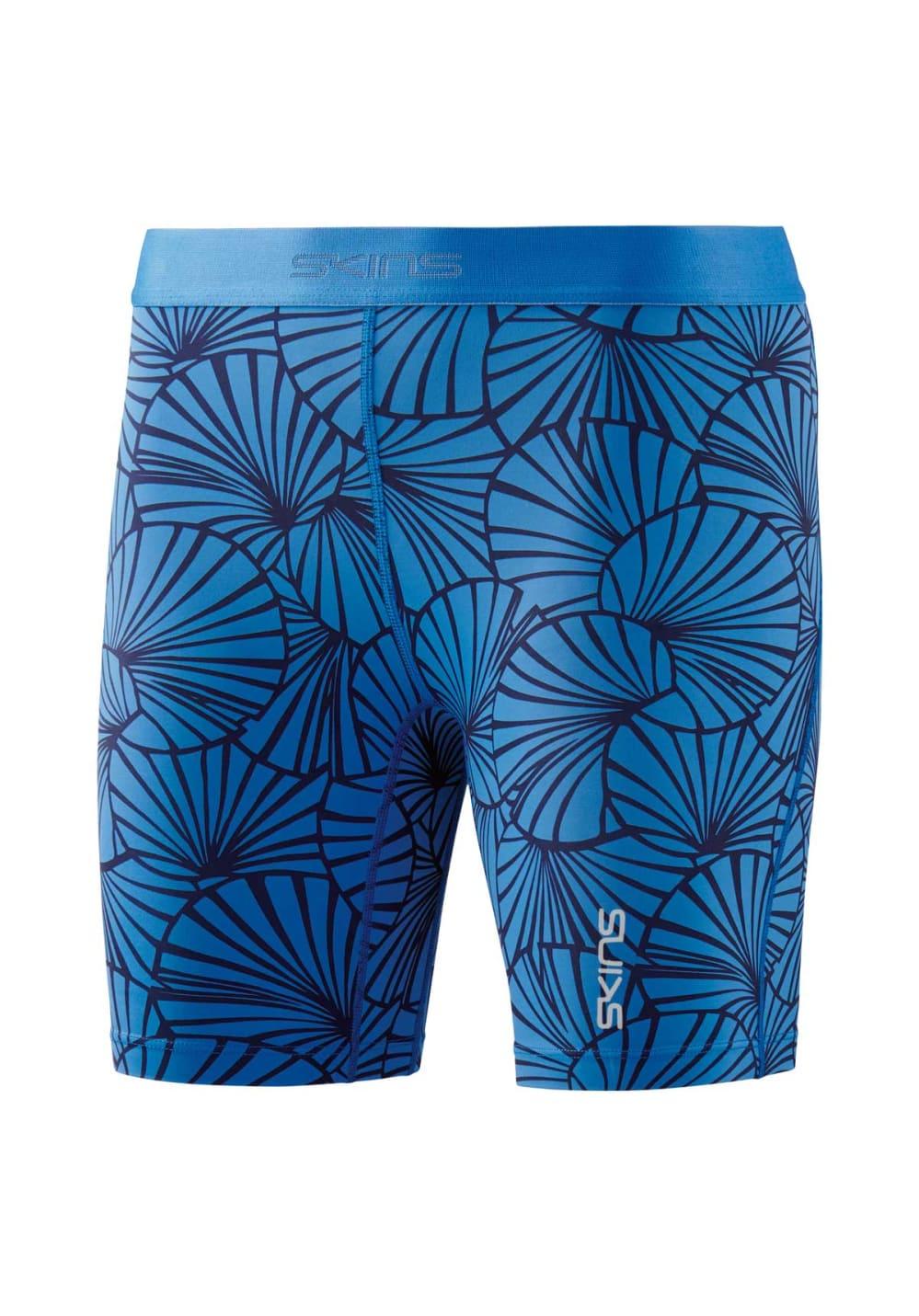 Skins Dnamic Shorts - Laufhosen für Damen - Blau