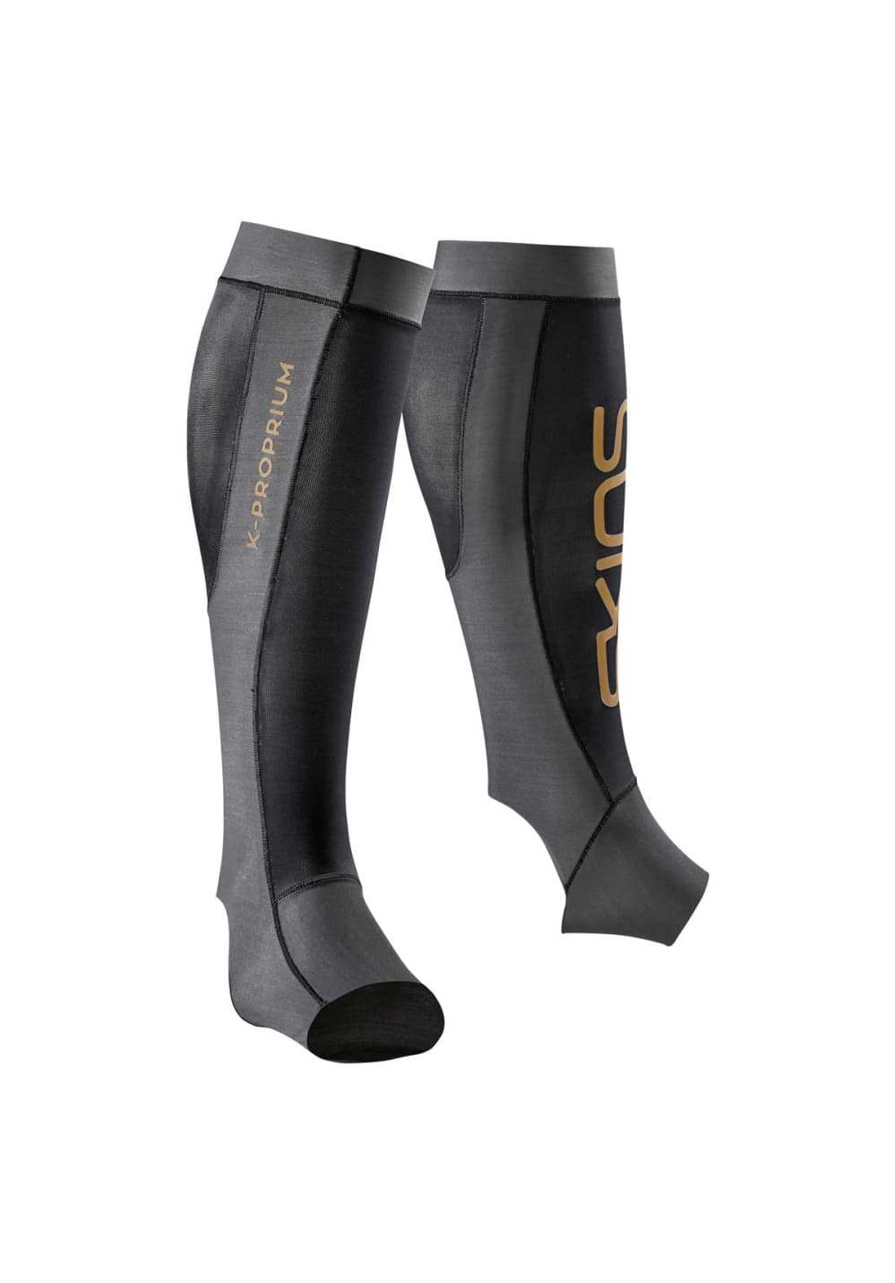 Skins K-proprium-calf Tights Kompression - Grau