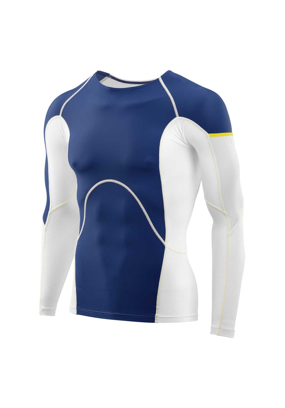 Skins Dnamic Ultimate Cooling Long Sleeve Top - Laufshirts für Herren - Blau, G
