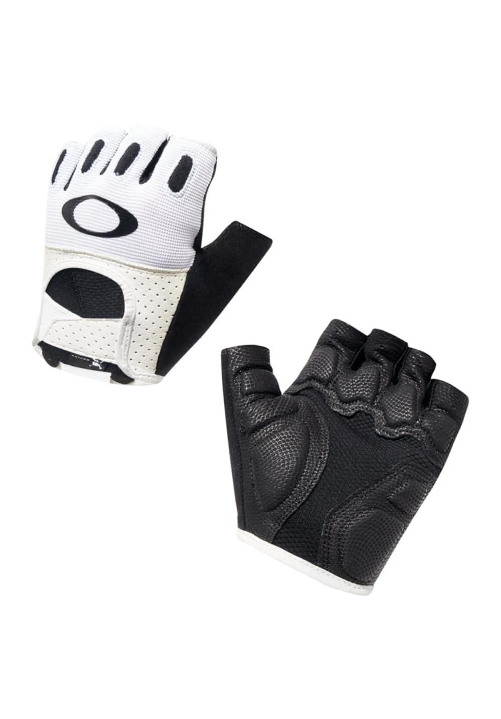 Oakley Factory Road Glove 2.0 - Radhandschuhe für Herren - Weiß, Gr. M