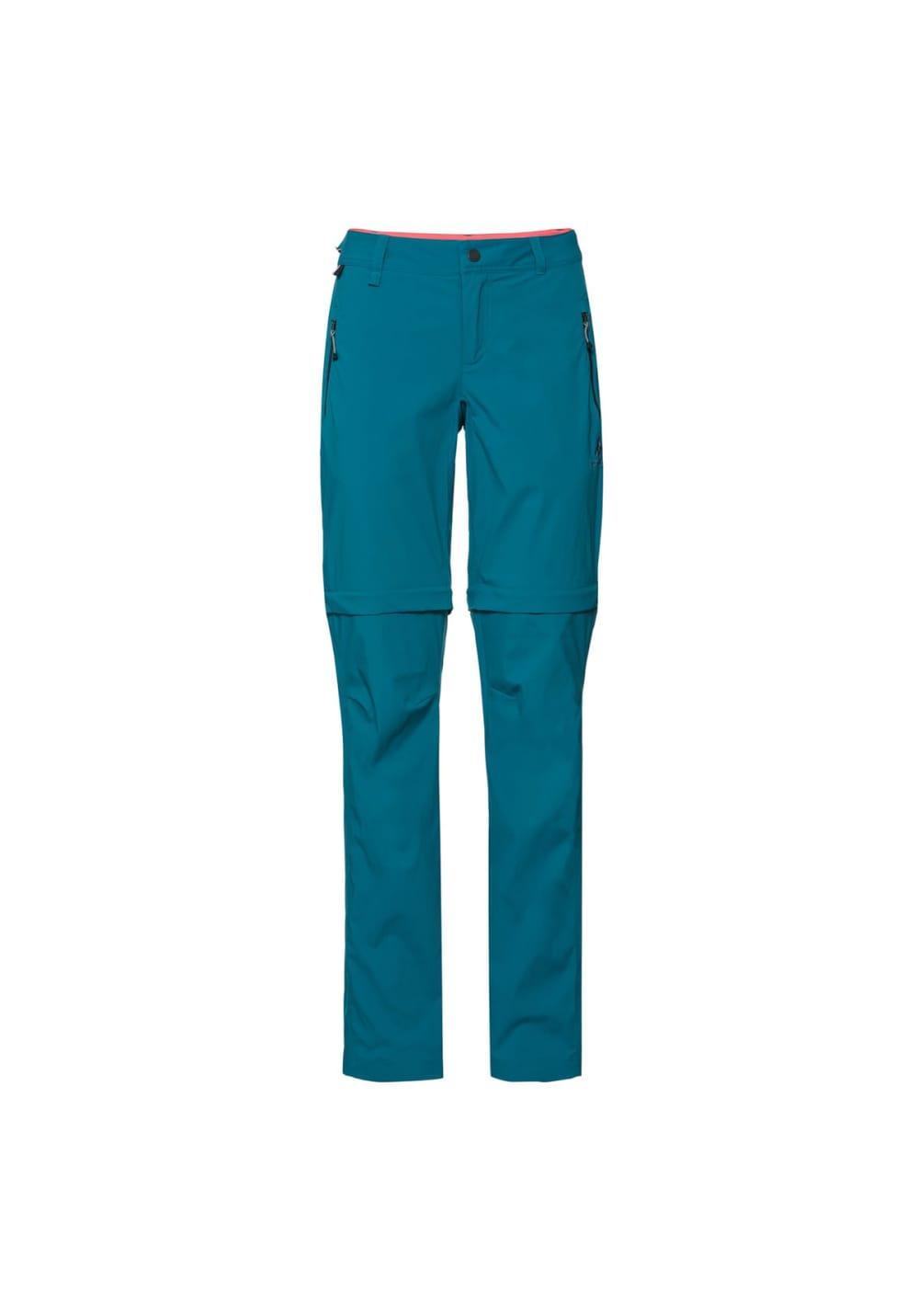 Zip Outdoor Femme Pour Wedgemount Vert Odlo Pants Off Y7Im6fgyvb