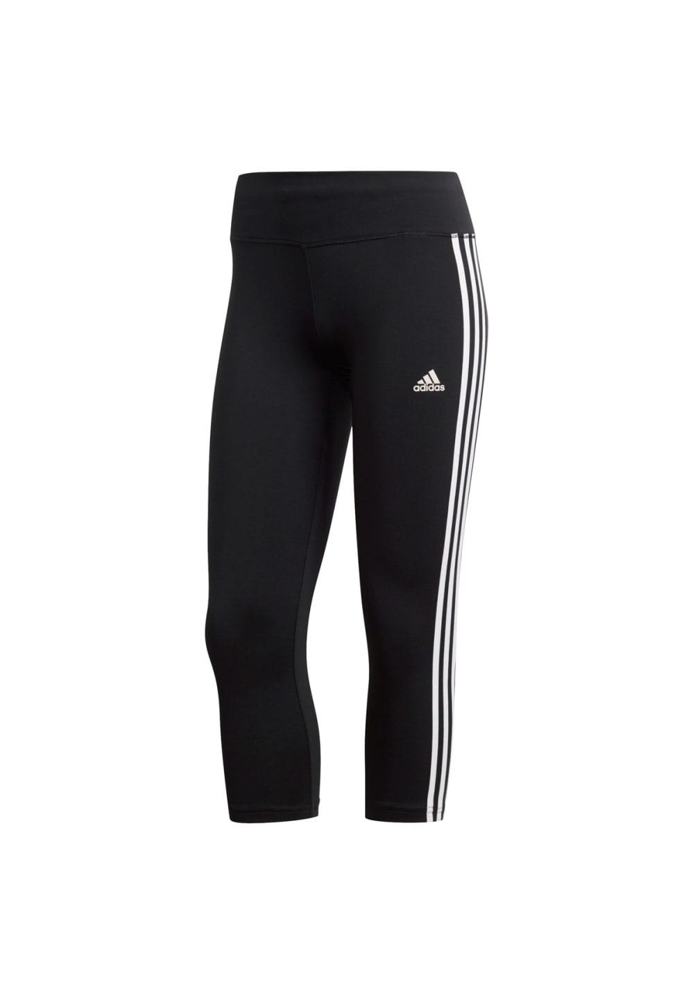 adidas Designed 2 Move Climalite 3/4-tight - Fitnesshosen für Damen - Schwarz