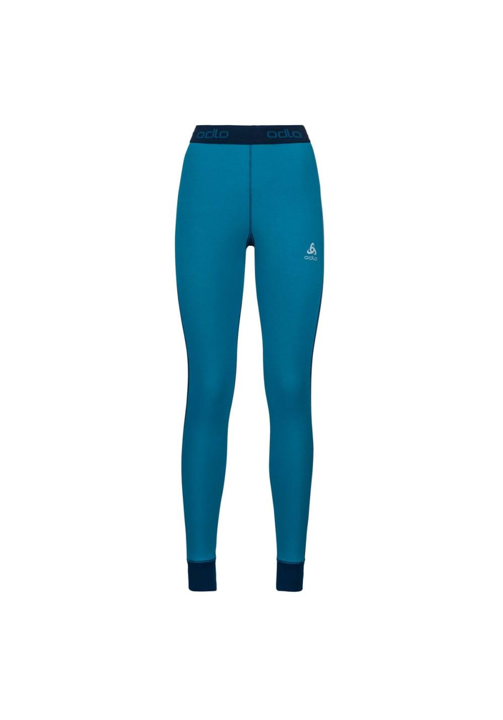 Sportmode für Frauen - Odlo Bottom Pant Active Revelstoke Warm Laufhosen für Damen Weiß  - Onlineshop 21Run